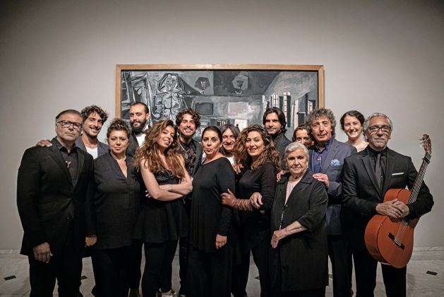 Familia Morente, Compases, silencios y libertad, performance al Museu Picasso, Barcellona, 27 maggio 2019. Courtesy of the artists. Museu Picasso, Barcellona. Photo David Airob