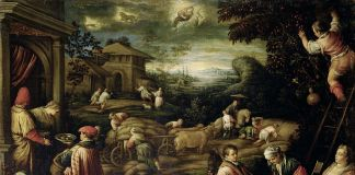 Francesco da Ponte, detto Francesco Bassano, Estate, 1585_1590 circa, Olio su tela, 111 cm × 145,5 cm, Courtesy KHM Museumsverband