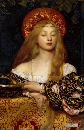 Frank Cadogan Cowper R.A., Vanity, 1907. Royal Academy of Arts, Londra © Royal Academy of Arts, Londra. Photo John Hammond