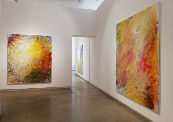 Frank Holliday in Rome. Exhibition view at Museo Carlo Bilotti, Roma 2019