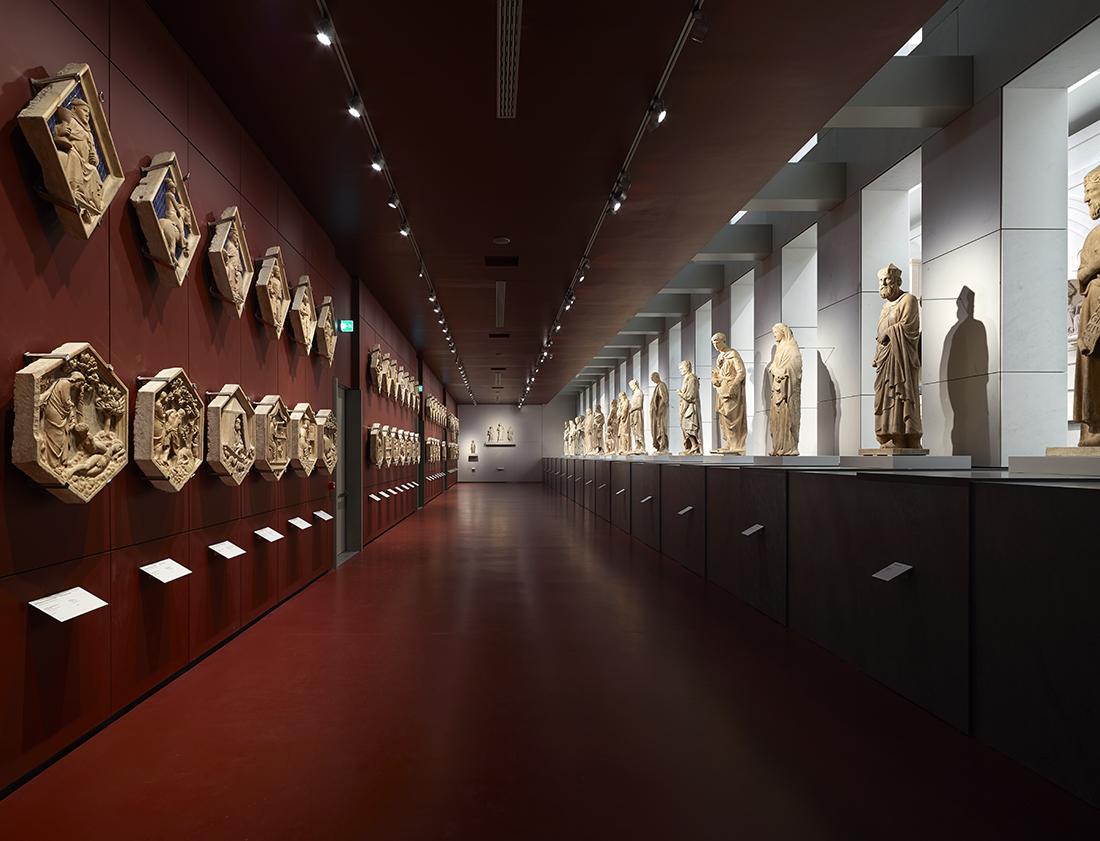 Guicciardini & Magni Architetti, Museo dell'Opera di Santa Maria del Fiore, piazza del duomo 9, Firenze 2009-2015. Photo Mario Ciampi