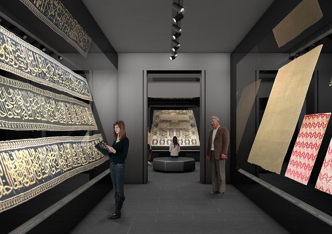 Guicciardini & Magni Architetti, Museo delle collezioni del Palazzo di Topkapi Sultanahmet, Fatih, Istanbul 2015-2020. Render di Guicciardini & Magni Architetti
