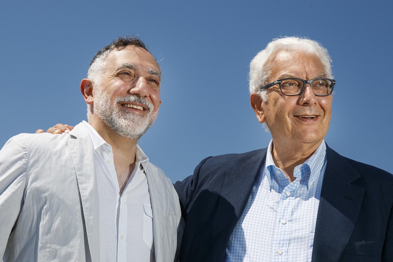 Hashim Sarkis, Paolo Baratta - Photo by Jacopo Salvi, Courtesy La Biennale di Venezia