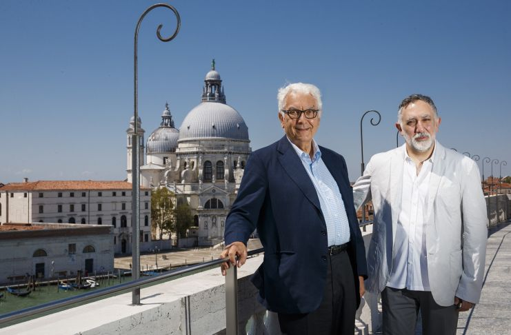 Hashim Sarkis, Paolo Baratta - Photo by Jacopo Salvi, Courtesy La Biennale di Venezia