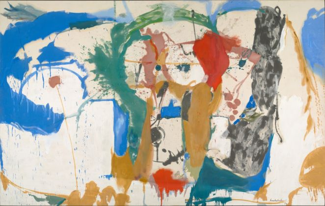 Helen Frankenthaler. Madridscape. 1959. The Baltimore Museum of Art Anonymous Gift. BMA 1966.54 © The Baltimore Museum of Art Helen Frankenthaler