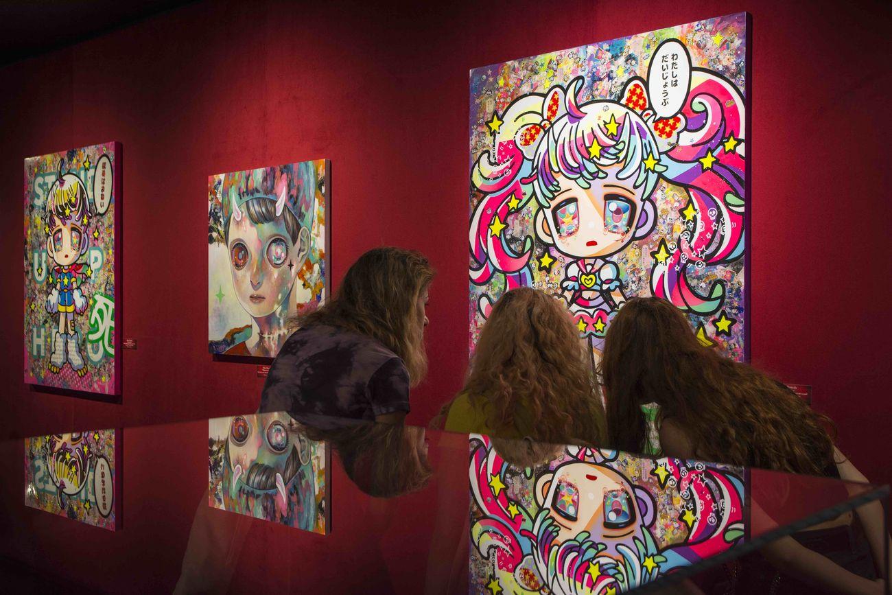 Hikari Shimoda. Exhibition view at Dorothy Circus Gallery, Roma 2019