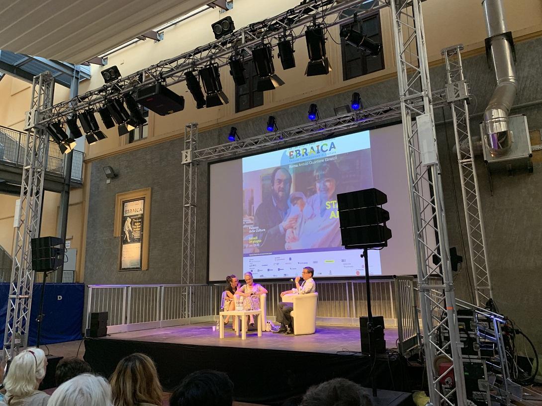L'incontro con Katharina Kubrick a Ebraica, 2019