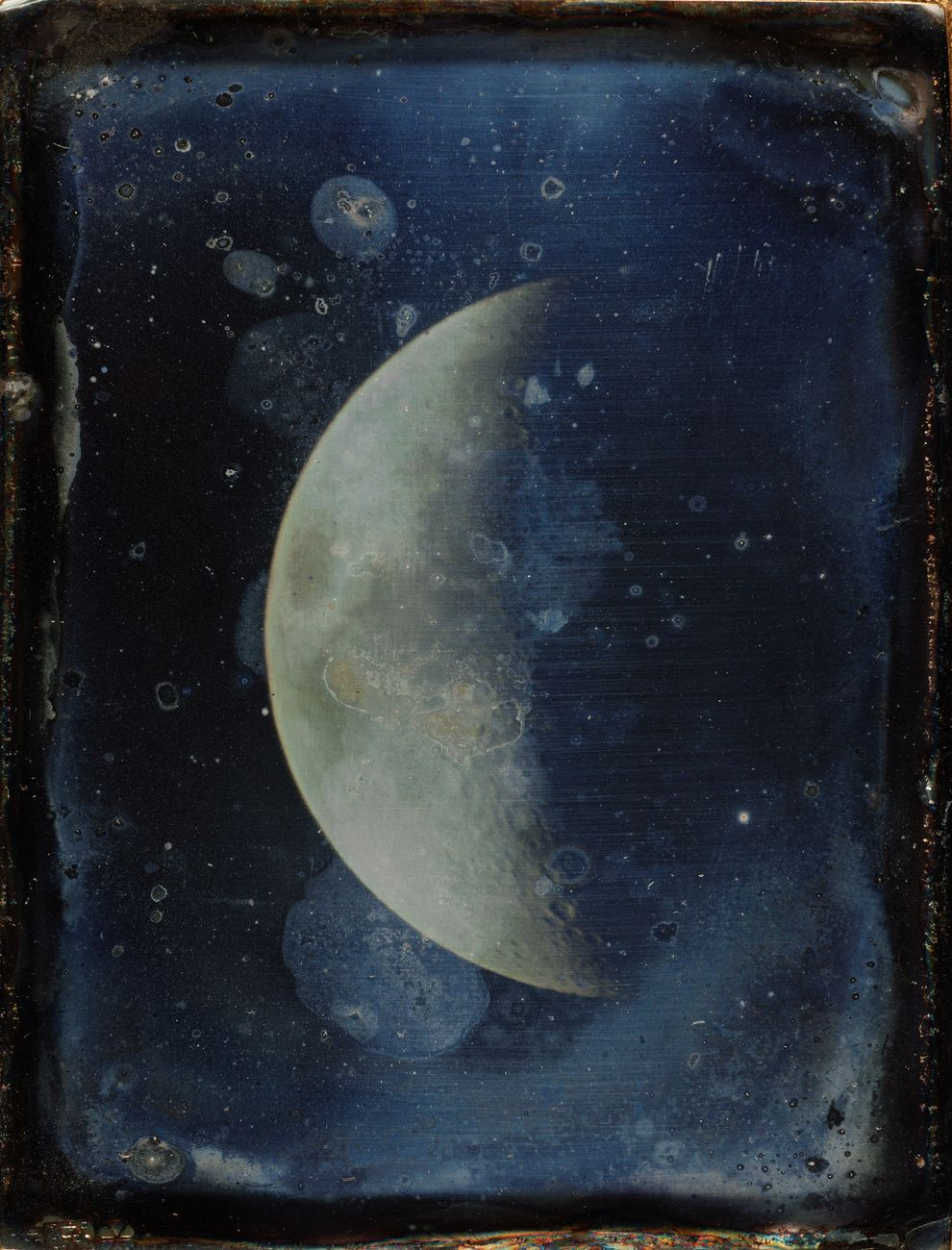 John Adams Whipple, View of the Moon, 1852