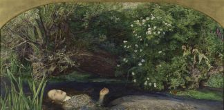 John Everett Millais, Ofelia, 1851-52 ©Tate, London 2019