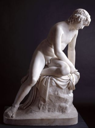 John Gibson RA, Narcissus, 1838. Royal Academy of Arts, Londra © Royal Academy of Arts, Londra. Photo Paul Highnam