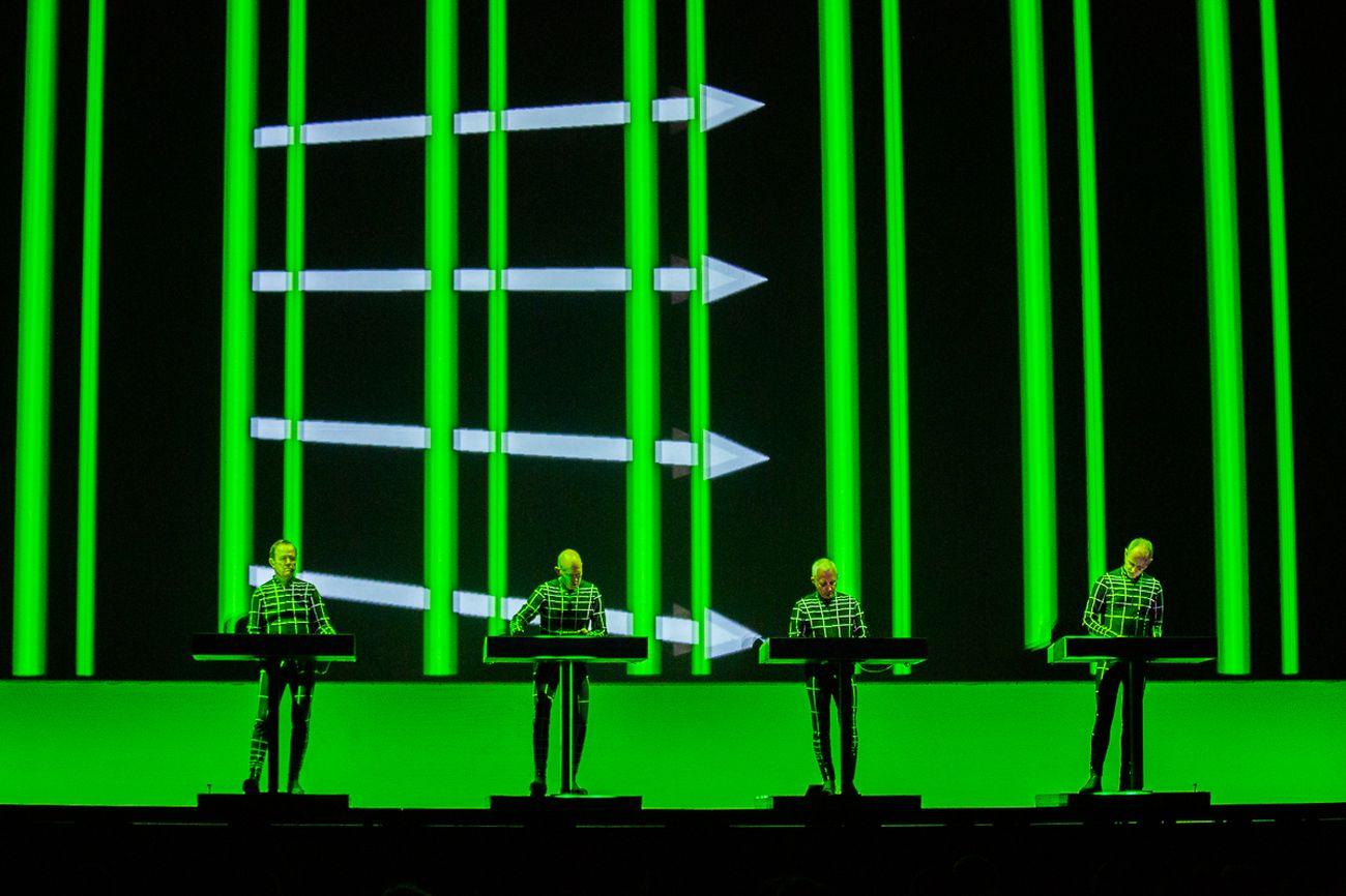 Kraftwerk 3D, Ostia Antica, Teatro Romano. Photo credit Danilo D'Auria