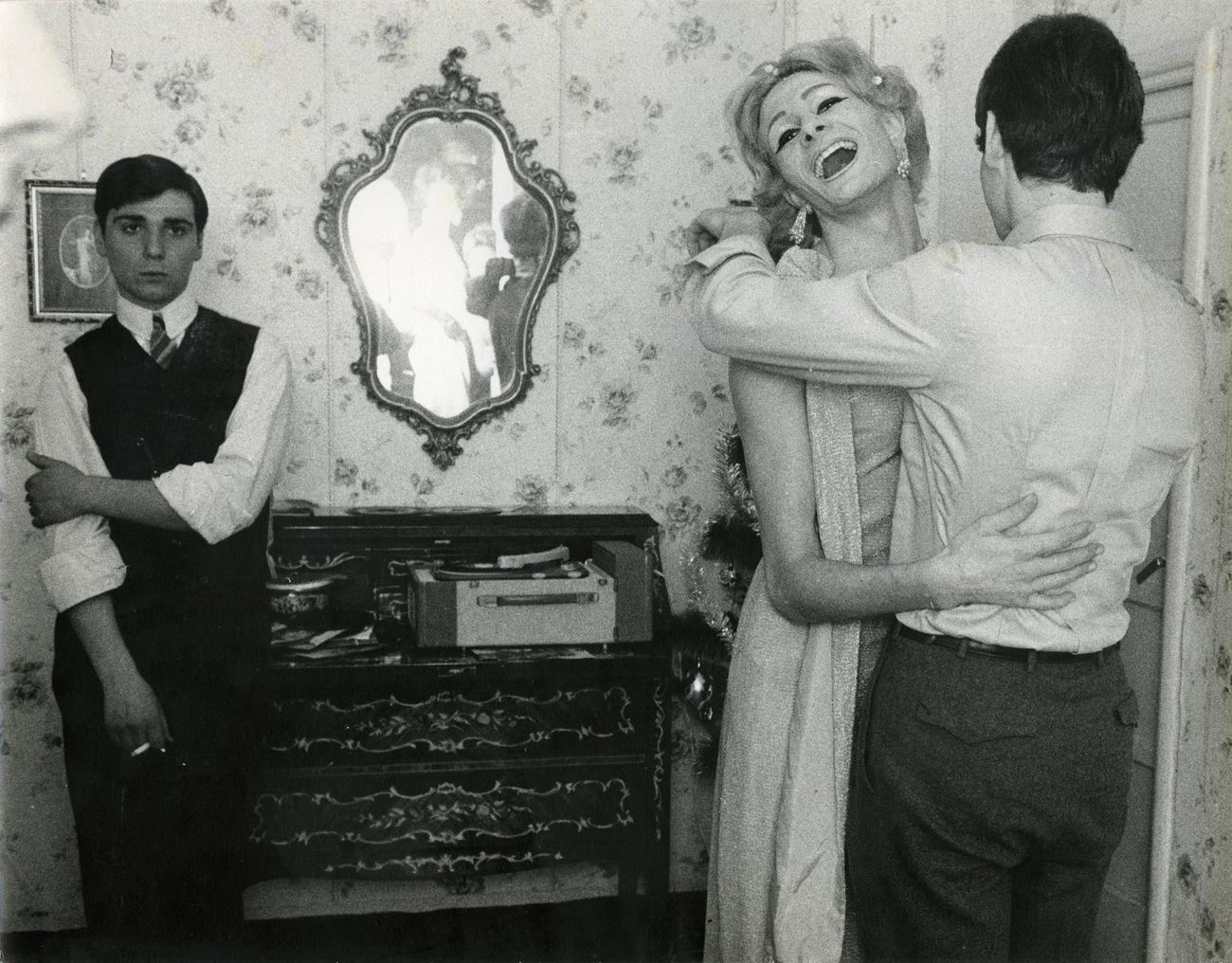 Lisetta Carmi, I Travestiti, 1965 © Lisetta Carmi. Courtesy Galleria Martini & Ronchetti
