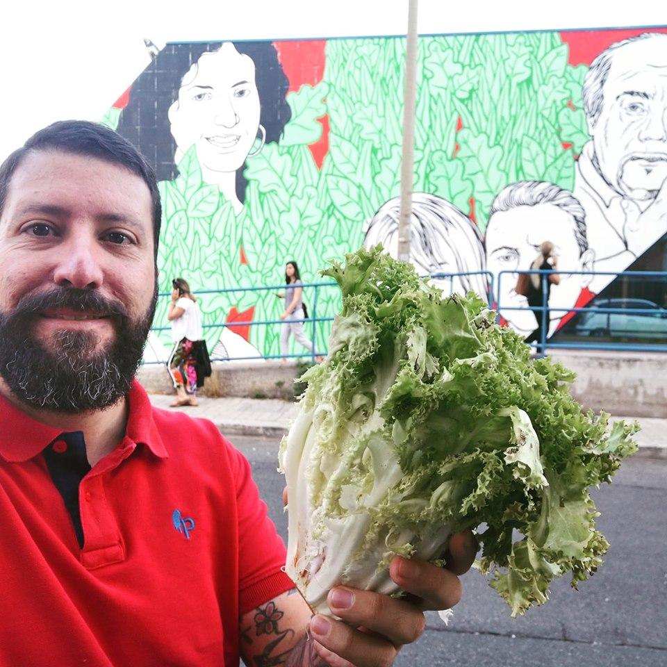 Luca Marsella soddisfatto dopo la censura del muro