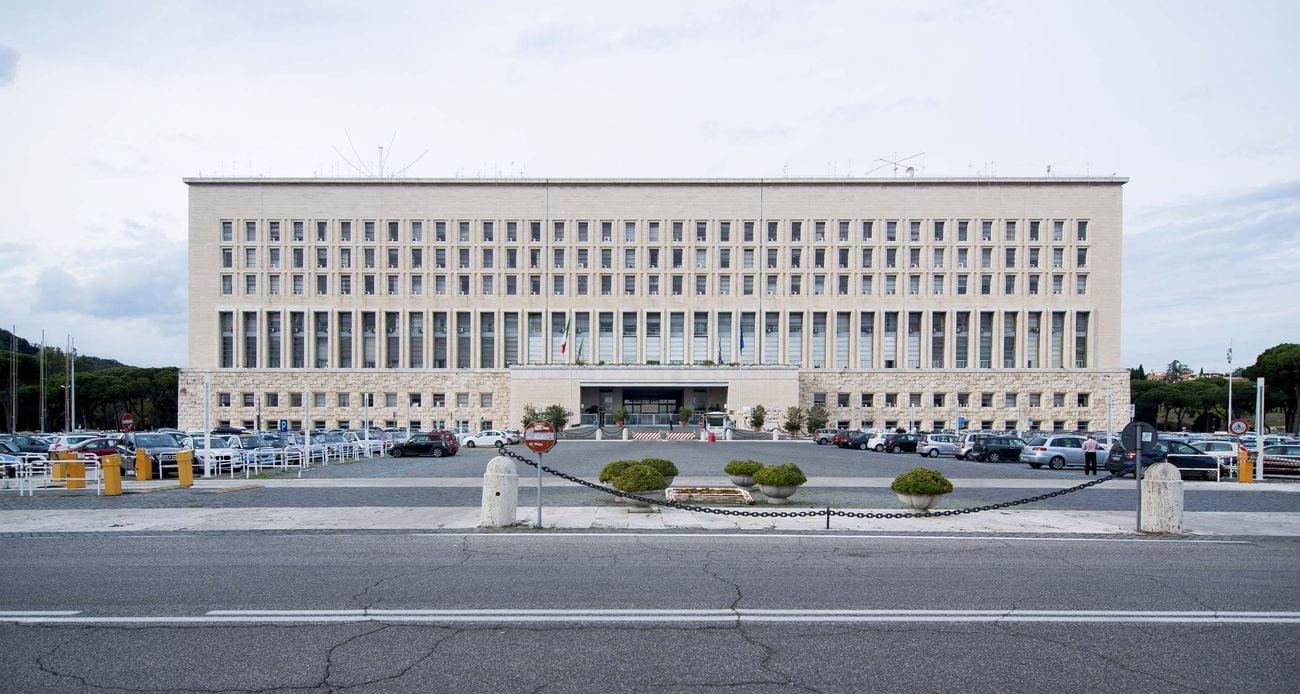 MAECI - Ministero degli Affari Esteri. Facciata. Photo Giorgio Benni