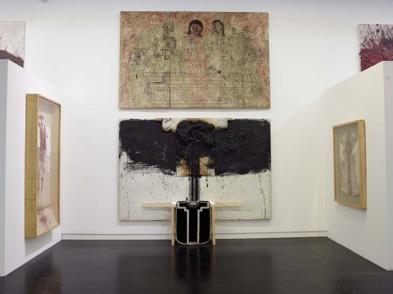 MUSJA_Hermann Nitsch Exhibition view: Senses and Being, 2013, Nitsch Museum, Mistelbach AT Photo: © Manfred Thumberger