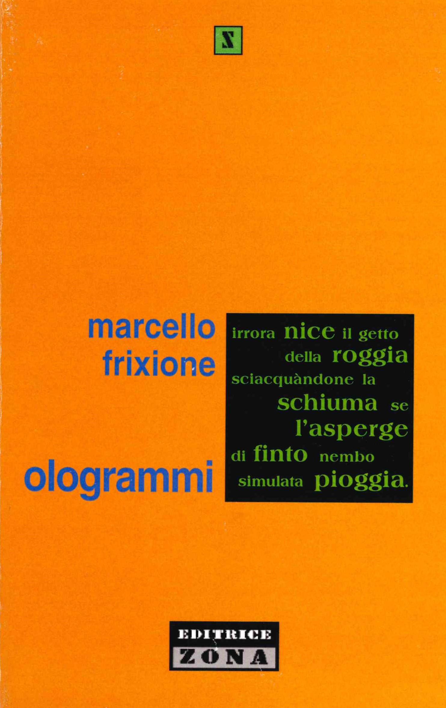 Marcello Frixione, Ologrammi (Zona 2001)