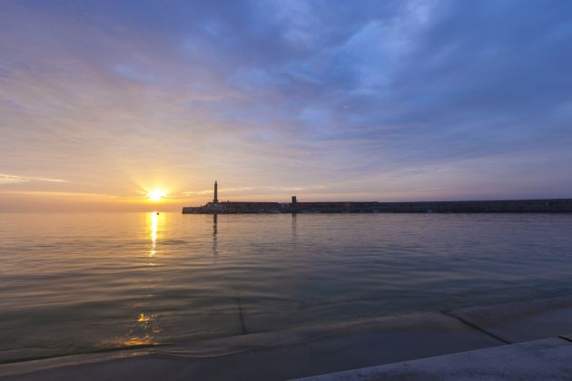 Margate Harbour Arm 'Turner Sunset'. Photo Visit Thanet