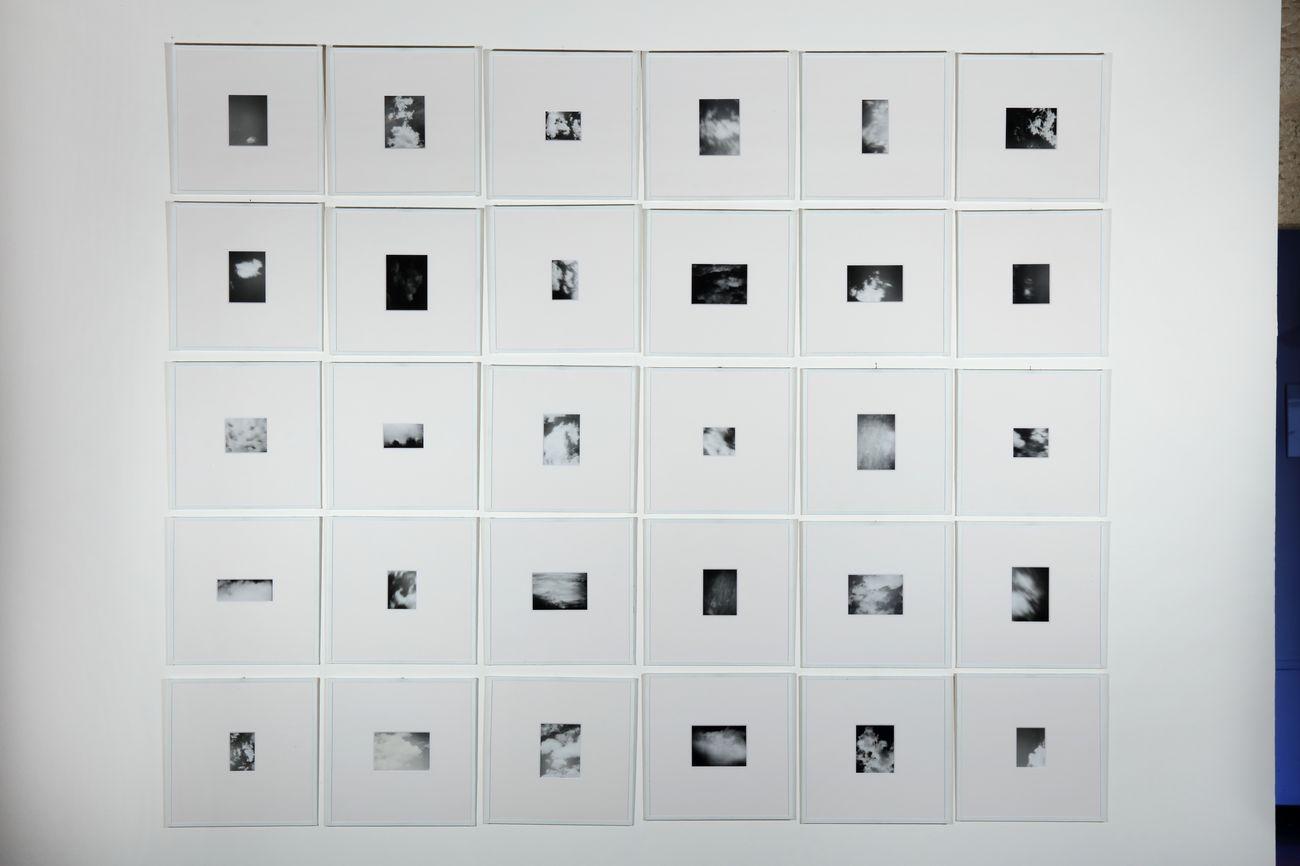 Mariatersa Sartori, Seguendo l'ordine del tempo, exhibition view at galleria Doppelganger, Bari 2019