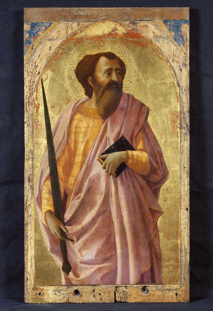 Masaccio, San Paolo, 1426, Museo Nazionale di San Matteo, Pisa | Artribune