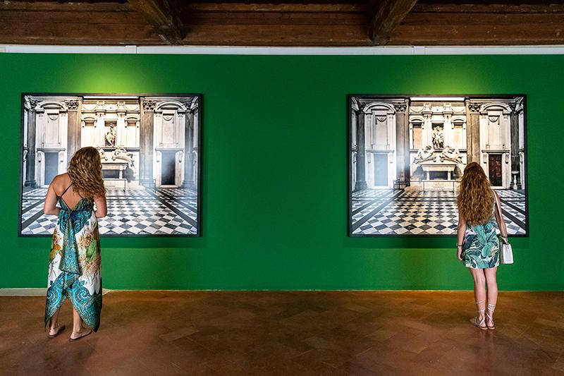 Massimo Listri. A perfect day. Installation view at Forte di Belvedere, Firenze 2019. Photo © Nicola Neri