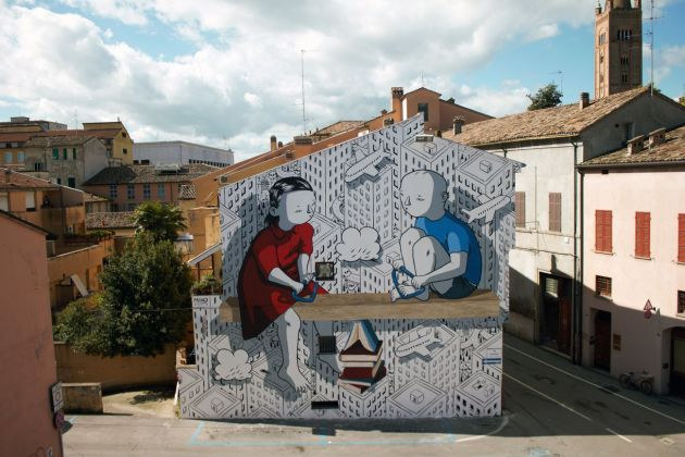 Millo, Article 3, Forlì, 2008. Photo Marco Miccoli
