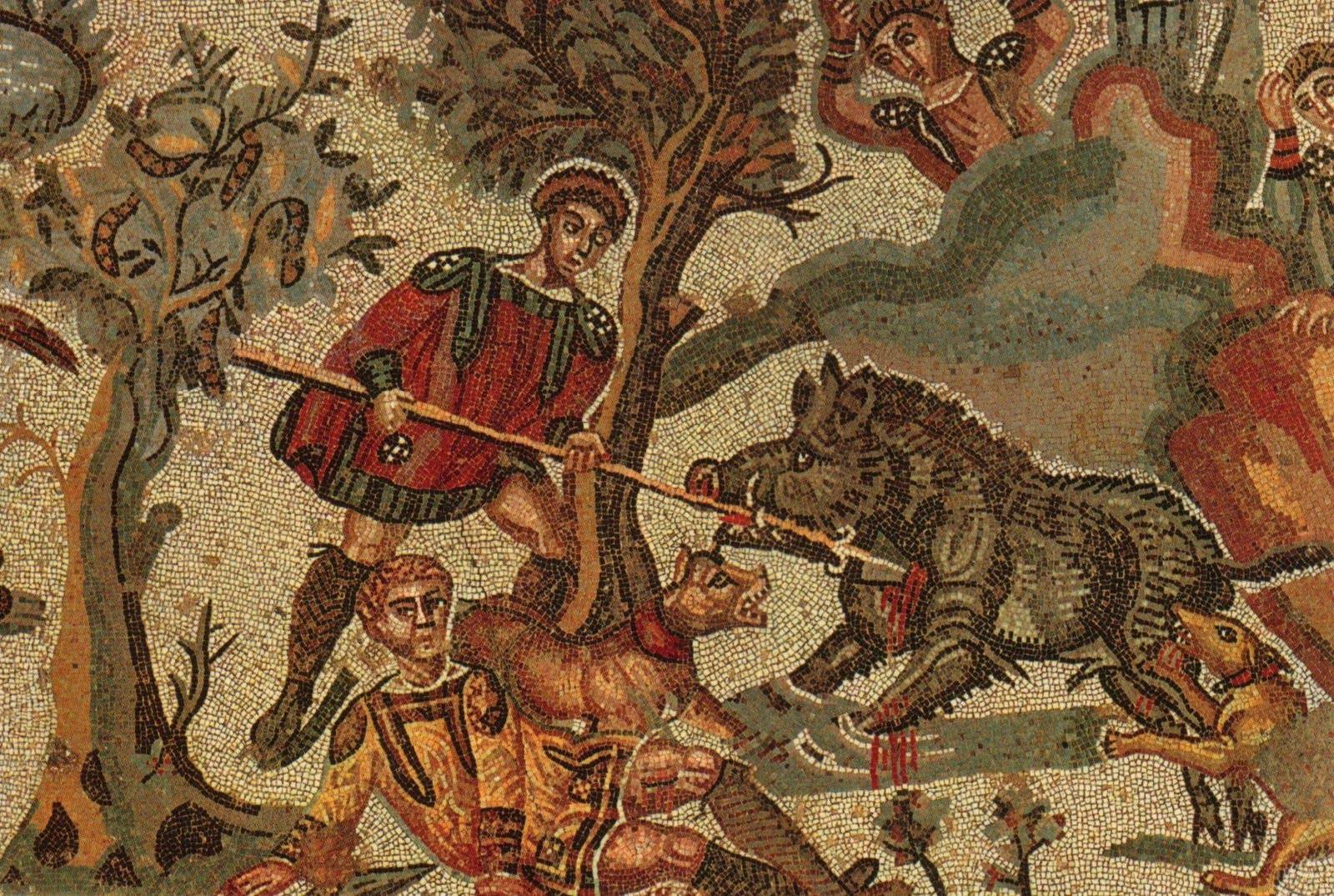 Mosaici di Villa Romana del Casale, Piazza Armerina