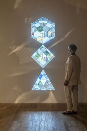 Olafur Eliasson, Your planetary window, 2019, detail. Installation view at Tate Modern, Londra 2019. Photo Anders Sune Berg. Courtesy the artist & neugerriemschneider, Berlin & Tanya Bonakdar Gallery, New York-Los Angeles © 2019 Olafur Eliasson