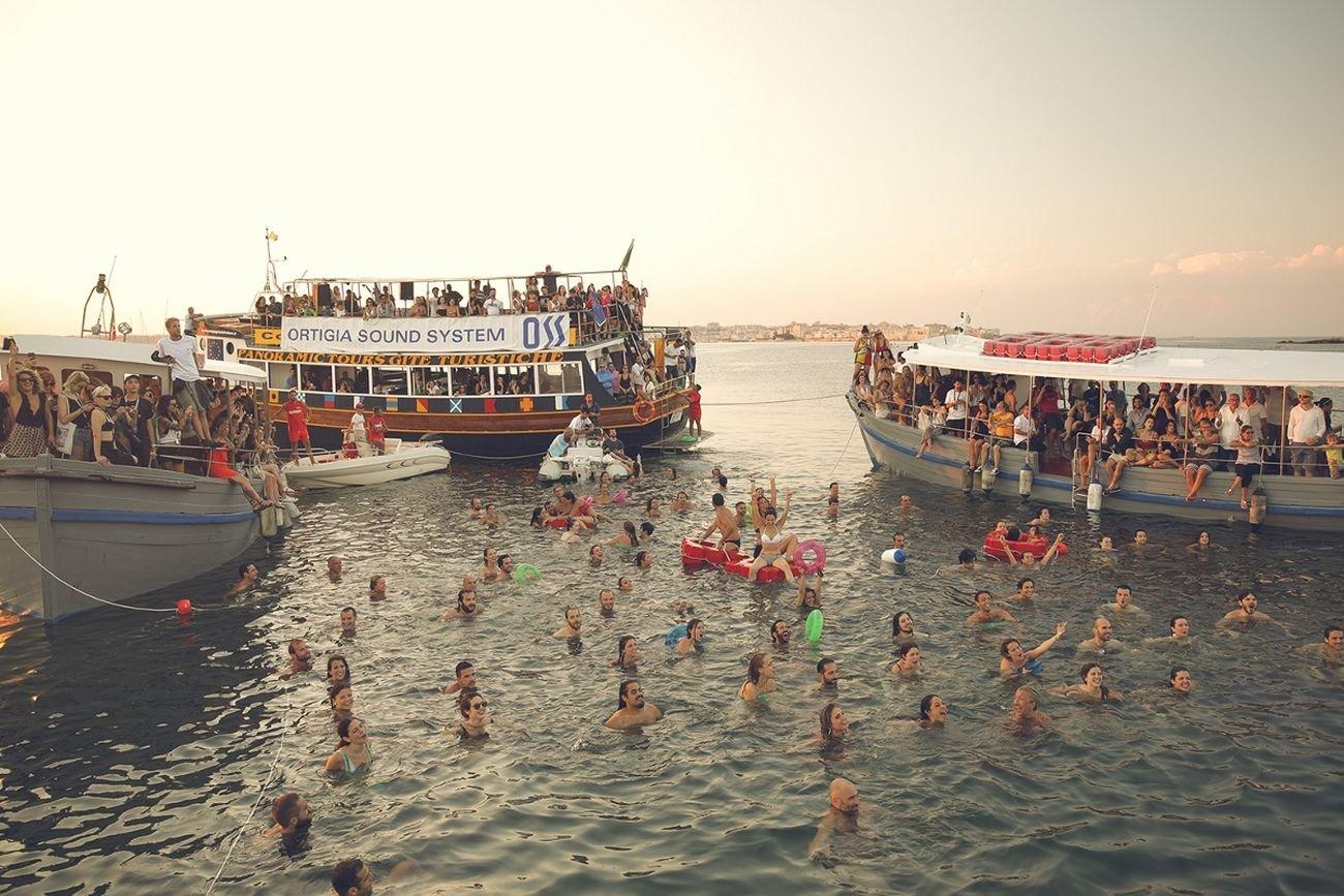 Ortigia Sound, System Festival, Boat concert, photo Jon Bronxl