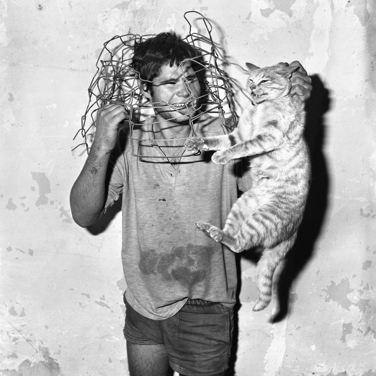Roger Ballen, Cat Catcher, 1998 © Roger Ballen
