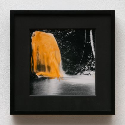 Sable Elyse Smith Glittering, 2018 oil stick on inkjet print 6.30 x 7.1in. (16 x 18.03 cm) Courtesy of The Artist and JTT Gallery