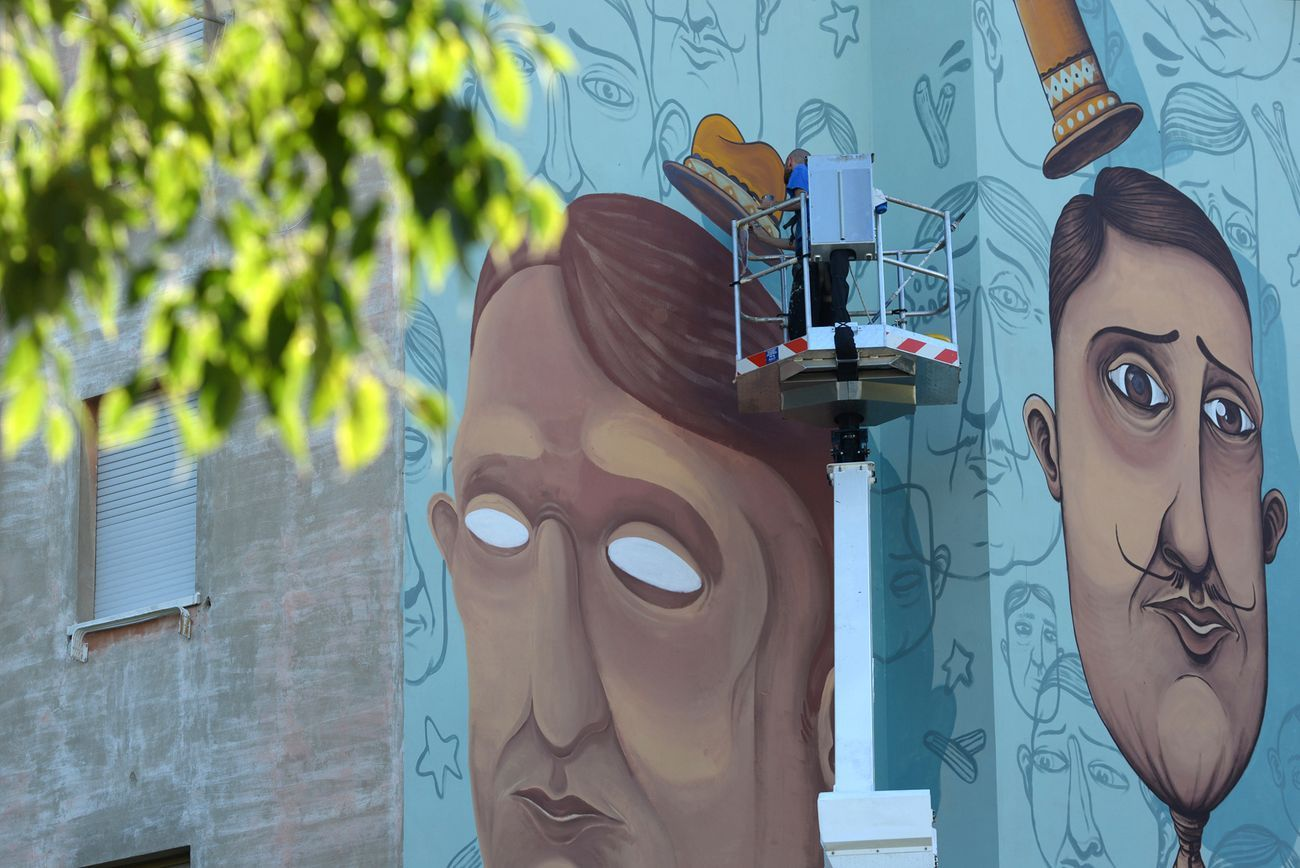 La Pittura Moderna Imola.Intervista Allo Street Artist Sea Artribune