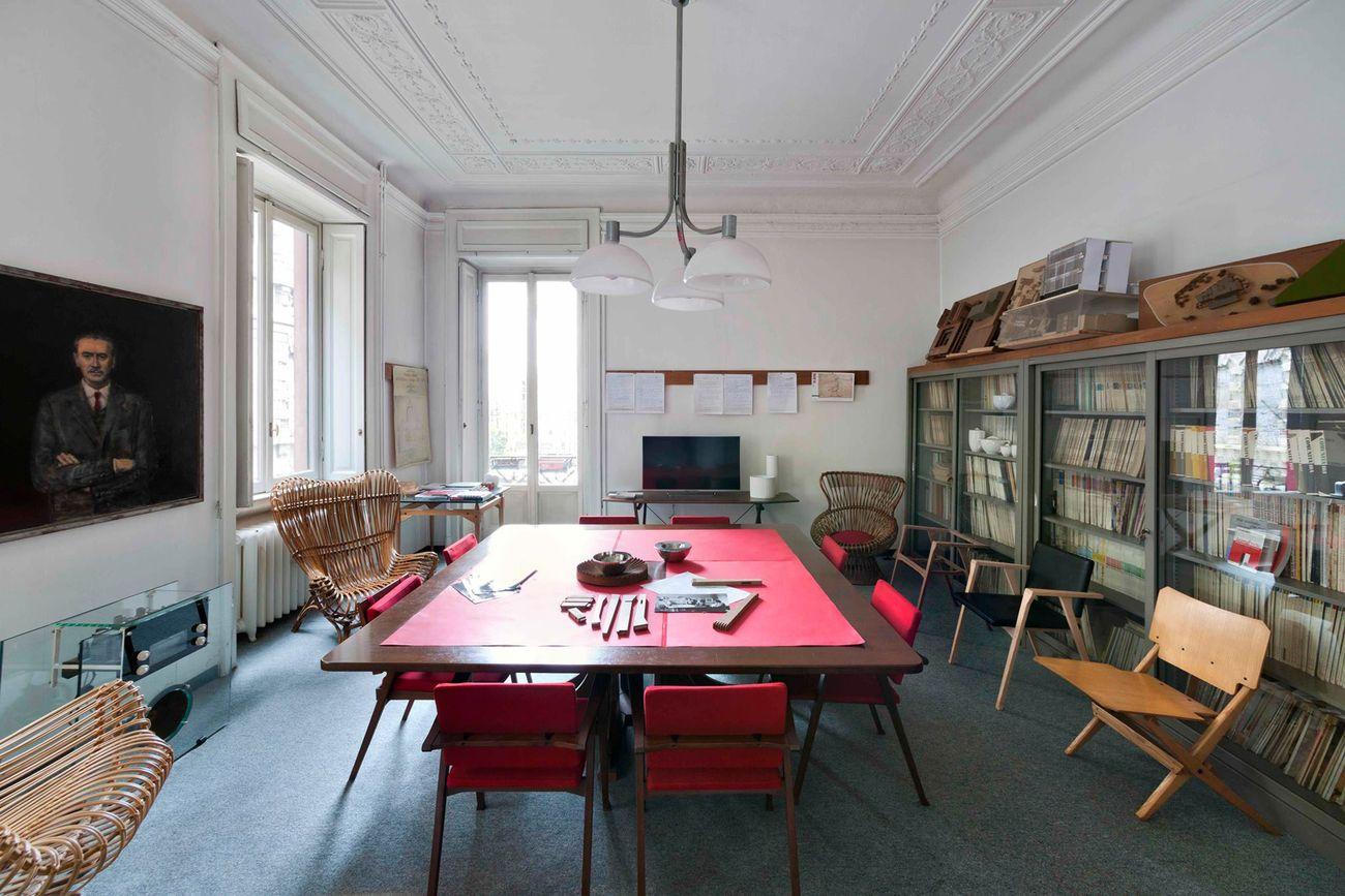 Sede della Fondazione Franco Albini, Milano © Fondazione Franco Albini