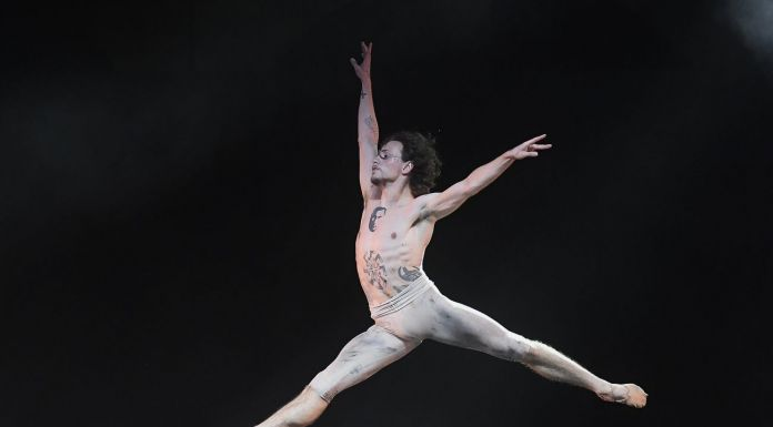 Sergei Polunin in Sacré, photo Alessandro Botticelli