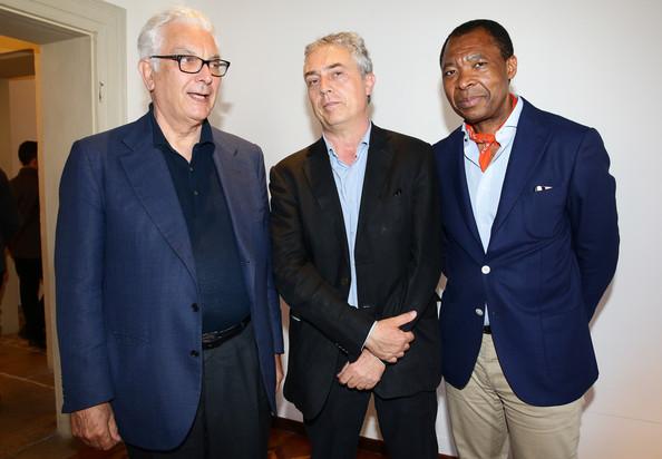 Okwui Enwezor, Paolo Baratta e Stefano Boeri a Venezia, 2014