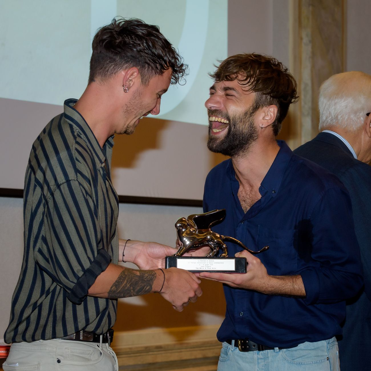 Théo Mercier & Steven Michel, photo Andrea Avezzù