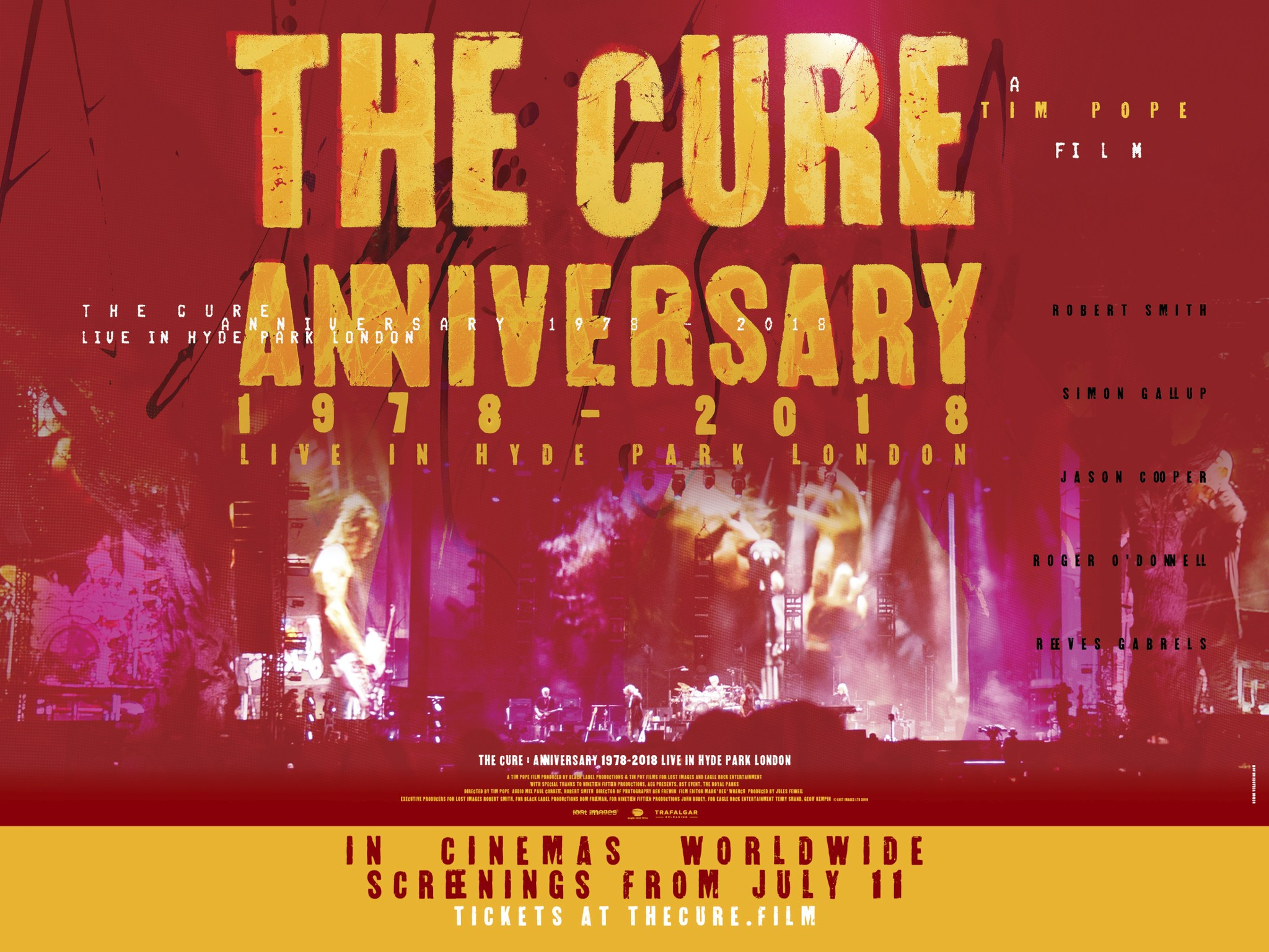 The Cure Anniversary Featured
