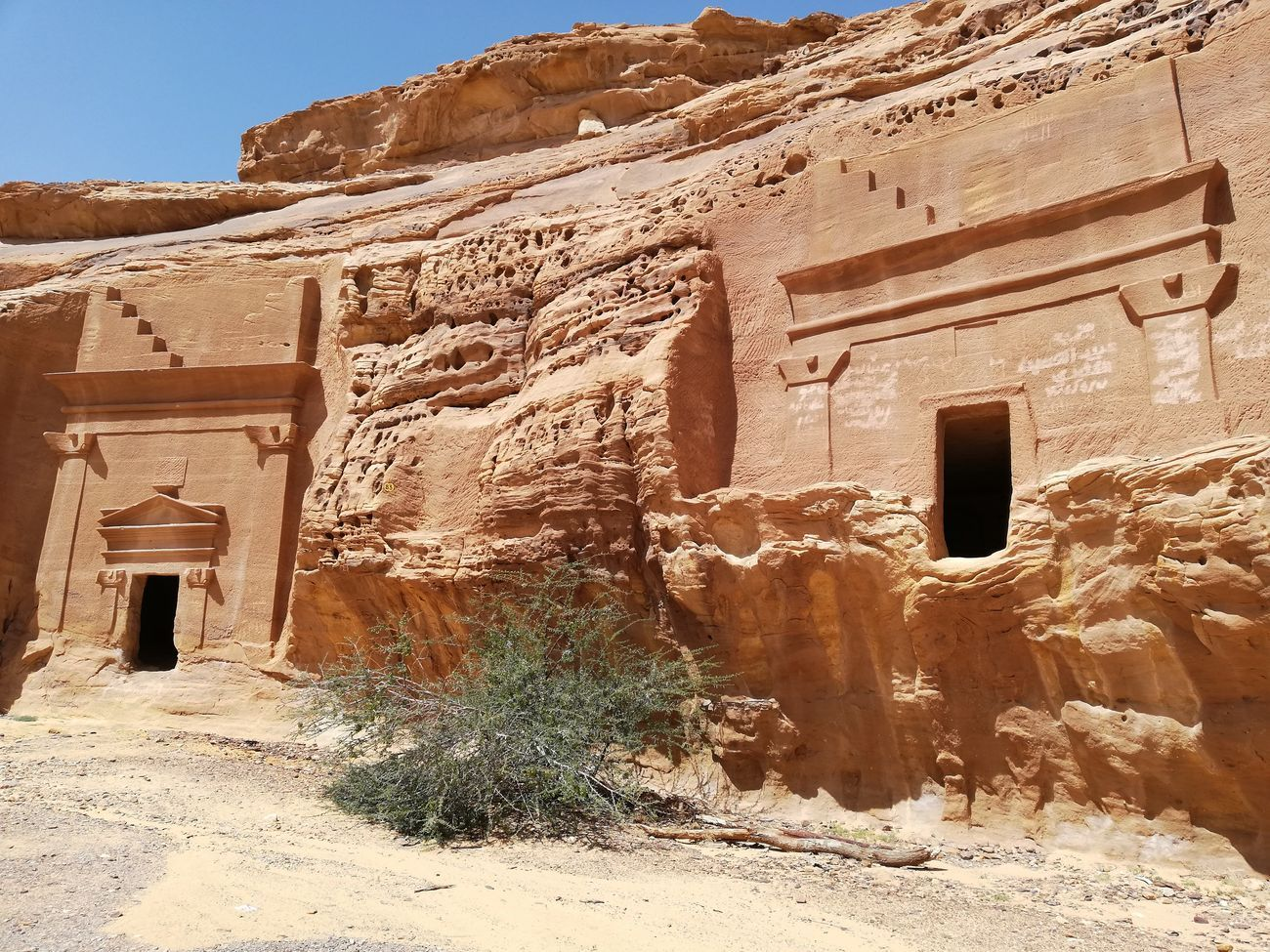 Tombe preservate nella Regione di Al-Ula. Photo Daniele Perra