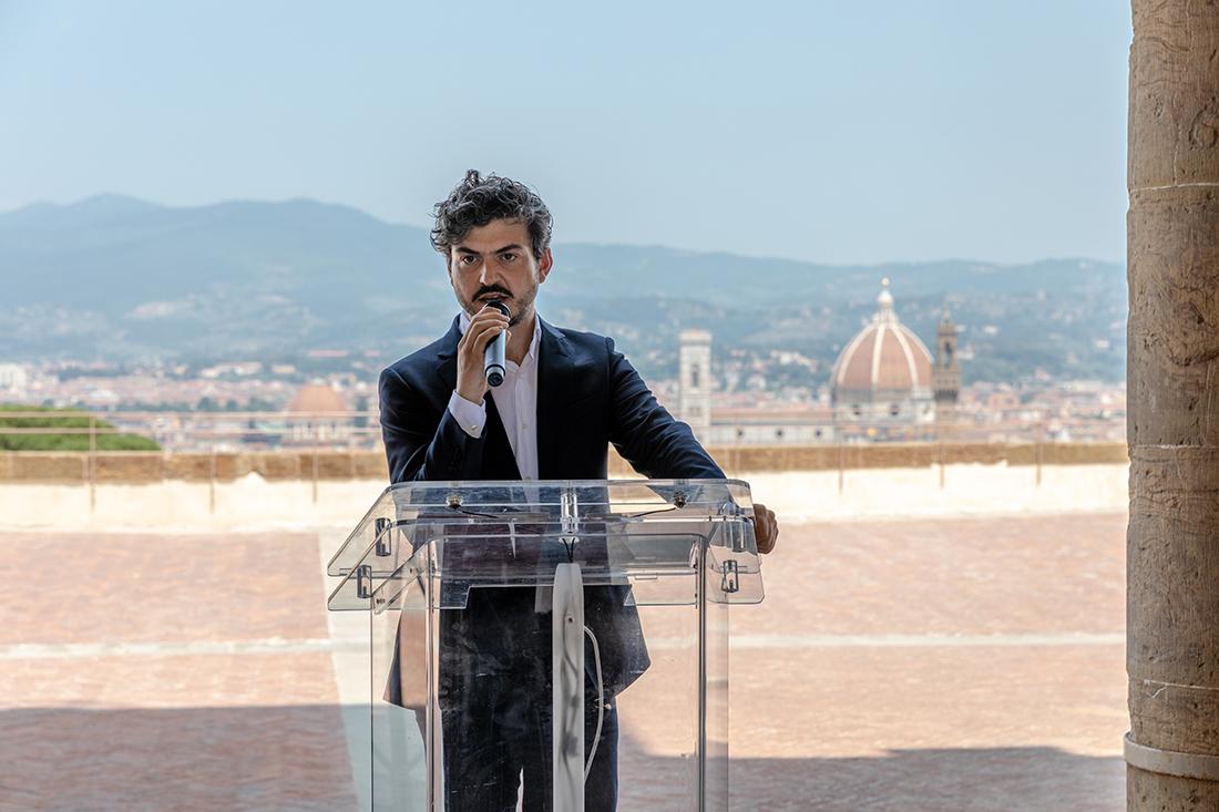 Tommaso Sacchi al Forte Belvedere, Firenze, giugno 2019. Photo © Nicola Neri
