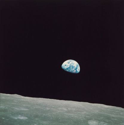 William Anders, NASA Apollo 8. Earthrise, 1968