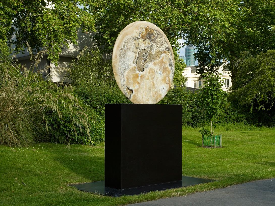 Barry Flanagan, Composition 2008, waddington custot frieze sculpture 2019, Credit: Stephen White