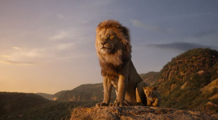 "THE LION KING - Featuring the voices of James Earl Jones as Mufasa, and JD McCrary as Young Simba, Disney's ""The Lion King"" is directed by Jon Favreau. In theaters July 19, 2019 © 2019 Disney Enterprises, Inc. All Rights Reserved"