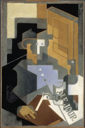 Juan GRIS Man from Touraine 1918 Oil on canvas © Jean-François Tomasian - Centre Pompidou, MNAM-CCI /Dist. RMN-GP