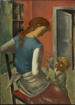 Eugène ZAK The Toy 1924 Oil on canvas © Bertrand Prévost - Centre Pompidou, MNAM-CCI /Dist. RMN-GP Domaine public