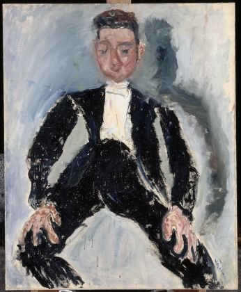Chaïm SOUTINE The Best Man 1924-1925 Oil on canvas © RMN-Grand Palais (musée de l'Orangerie) / Hervé Lewandowski Collection Jean Walter and Paul Guillaume