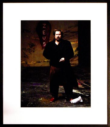 AAC Photo, Annie Leibovitz series, JULIAN SCHNABEL, courtesy Spritmuseum, Stockholm