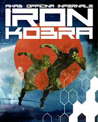 AkaB & Officina Infernale Iron Kobra (Progetto Stigma_Eris Edizioni, Torino 2019). Copertina