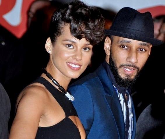 Alicia_Keys con il marito Swizz Beatz ai NRJ Music Awards, 2013 via wikipedia