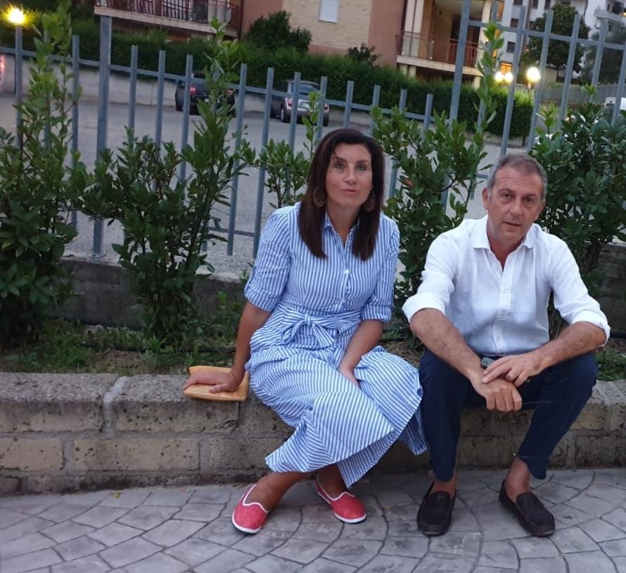 Arianna Rosica e Gianluca Riccio