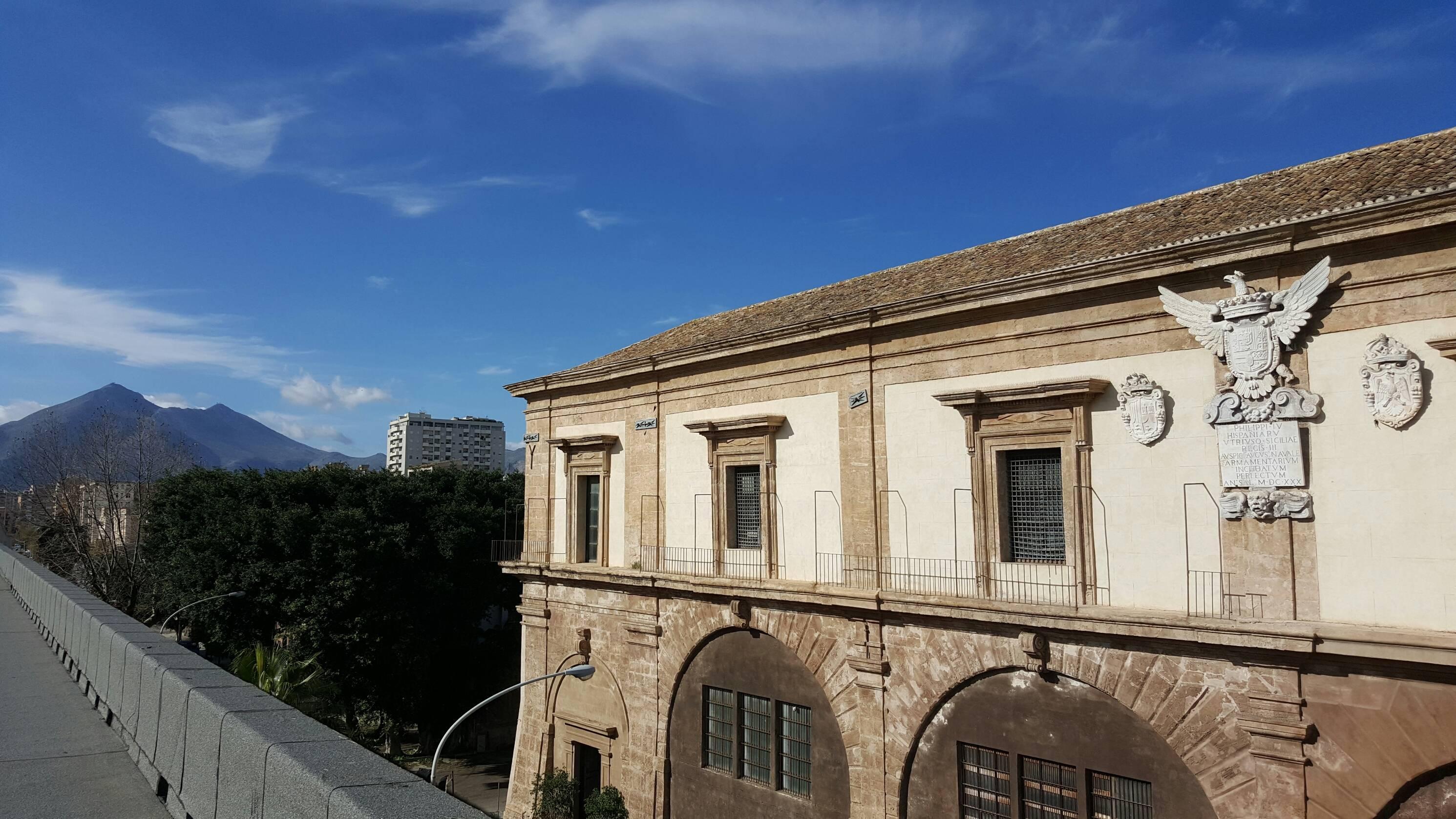 Arsenale della Marina Regia, Palermo, una delle sedi della Soprintendenza del Mare.  Ph. Alessandra De Caro, Soprintendenza del Mare
