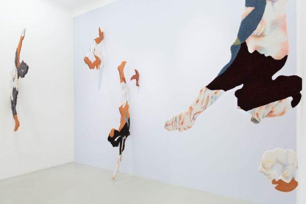 Bea Bonafini. Ogni Pensiero Vola. Exhibition view at Galleria Renata Fabbri, Milano 2018